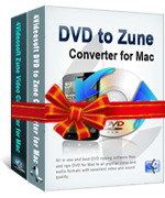 <p> 	<span>4Videosoft Zune Converter Suite for Mac, combining the strong functions of both DVD to Zune Converter for Mac and Zune Video Converter for Mac, is the most advanced and powerful Mac Zune Converter.</span></p>