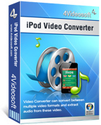 <p>Konvertieren Sie alle Videos in iPod MP4, konvertieren Sie alle die Audios in MP3/AAC/WAV, ect.</p>