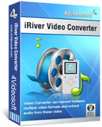 <p> 	Convert all video and audio formats to iRiver supported formats.</p>