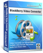 <p> 	Convert all video and audio formats to BlackBerry supported video and audio.</p>