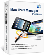 4Videosoft Mac iPad Manager Platinum Screen shot