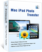 4Videosoft Mac iPad Photo Transfer coupon