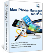 4Videosoft Mac iPhone Manager for ePub coupon