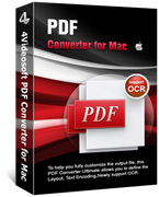 4Videosoft PDF Converter for Mac discount coupon