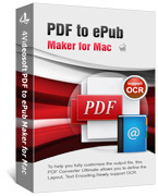 4Videosoft PDF to ePub Maker for Mac coupon