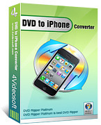 <p> 	4Videosoft DVD to iPhone Converter can convert DVD to iPhone MP4/iPhone 3GS MP4/iPhone 4 MP4/iPhone H.264(.mp4)/MOV.</p>