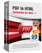 4Videosoft PDF to HTML Converter for Mac discount coupon