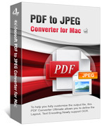 buy discount 4Videosoft PDF to JPEG Converter for Mac with coupon code