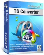 <p> 	4Videosoft TS Converter can convert video TS to other videos, and convert MPEG to TS, AVI to TS, convert all popular videos, like MTS, M2TS, HD HD MPG, HD MPEG,HD MP4, HD WMV, etc to TS with speed and precision.</p>