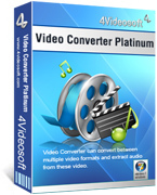 4Videosoft Video Converter Platinum