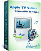 <p> 	4Videosoft Apple TV Video Converter for Mac is the best Mac Apple TV Video Converter to convert any video to Apple TV for Mac users. This Apple TV Converter Mac can convert video formats MPG, MPEG, MPEG2, etc, to Apple TV MP4, H.264(.mp4) on Mac.</p>
