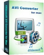 <p> 	4Videosoft AVI Converter for Mac is an easy to operate Mac AVI Converter for Mac users, which helps you to convert video to AVI, HD AVI, DivX (.avi), XviD (.avi) with perfect output quality and high conversion speed.</p>