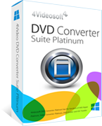 buy discount 4Videosoft DVD Converter Suite Platinum with coupon code