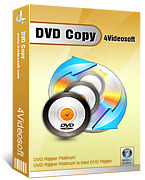<p> 	4Videosoft DVD Copy is the best DVD Copy Software to copy DVD perfectly at super fast speed. This DVD to DVD Copy can easily copy DVD in 1:1 ratio; compress DVD-9 to DVD-5.It can also make the DVD backup to DVD folder or ISO image file.</p>
