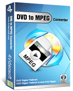 <p> 	4Videosoft DVD to MPEG Converter is one remarkable DVD to MPEG Ripper software,which means you are easy to convert DVD to MPEG format by using it. You also can remove the DVD protection into unprotected DVD VOB format.</p>