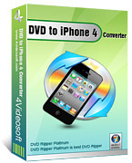 <p> 	4Videosoft DVD to iPhone 4 Converter is one powerful and effective DVD to iPhone 4 Converter, which can convert DVD to iPhone 4 MP4, iPhone 3GS, iPhone H.264(.mp4) and MOV perfectly and with lossless sound and image output quality.</p>