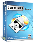 <p> 	4Videosoft DVD to MP3 Converter is a versatile MP3 Converter to convert DVD to MP3, WAV audio. This DVD to MP3 Converter characterizes the concise even tangible interface and unmatchable DVD to MP3 converting speed.</p>