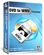 <p> 	4Videosoft DVD to WMV Converter is a phenomenal DVD to WMV Ripper software. Using this DVD to WMV converter, it's easy to change DVD file to WMV, or convert DVD to WMV.</p>