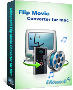 <p> 	4Videosoft Flip Movie Converter for Mac is one professional Mac Flip Movie Converter which is capable of converting Flip movie to other popular video formats on Mac.like convert Flip movie to AVI on Mac, convert Flip movie to WMV on Mac.</p>