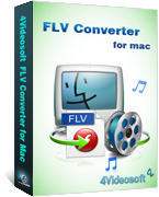 4Videosoft FLV Converter for Mac