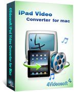 4Videosoft iPad Video Converter for Mac