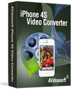 <p> 	4Videosoft iPhone 4S Video Converter can convert any popular video formats to iPhone 4S compatible video and audio formats, such as MP4, AVI, MOV, MP3, WAV, M4A, etc. It also can be used to convert between audio files.</p>