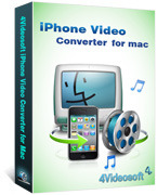 <p>4Videosoft iPhone Video Converter für Mac ist die professionelle Mac iPhone Video Converter zum Konvertieren von MPG, MPEG, MPEG2, MTS, M2TS, TS, VOB, MP4, M4V, RM, RMVB, WMV, ASF, usw. zu iPhone video MP4, h. 264/MPEG-4-AVC(.mp4), MOV für Sie auf dem iPhone genießen.</p>