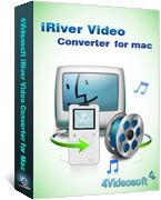 4Videosoft iRiver Video Converter for Mac discount coupon