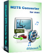 4Videosoft M2TS Converter for Mac
