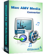 <p> 	4Videosoft Mac AMV Media Converter is the professional AMV Media Converter for Mac to convert any video to AMV media format. This AMV file converter can convert all the pop video formats.</p>