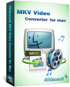 <p> 	4Videosoft MKV Video Converter for Mac is one comprehensive MKV Converter for Mac users. It can convert MKV files to any other video/audio formats easily. It also can convert HD video and general video files with super fast speed and good quality.</p>
