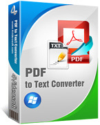 4Videosoft PDF to Text Converter