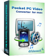 <p> 	4Videosoft Pocket PC Video Converter for Mac is developed to convert video to Pocket PC on Mac OS. You can convert video to Pocket PC, includes AVI, WMV,etc. The video converted by this Mac Pocket PC Video Converter is  compatible with Gphone,etc.</p>