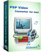 4Videosoft PSP Video Converter for Mac