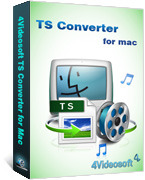 4Videosoft TS Converter for Mac