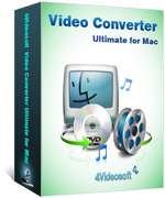 4Videosoft Video Converter Ultimate for Mac