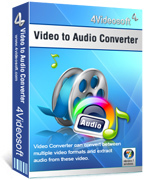 buy discount 4Videosoft Video to Audio Converter with coupon code