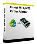 <p> 	Quest MT4/MT5 order alert is a expert, can notify you by SMS to you mobile phone when your new order placed or closed on your metatrader account. It is NOT forex signal service.</p>