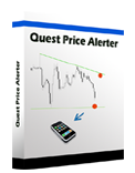 <p> 	Quest Price alert is a expert,  alerts you by SMS  when the price reaches certain levels or meet the trend line that are set by the trader.Easy to know having a price alert sent to you when a currency pair hits your price!</p>