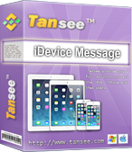 Tansee iOS Message Transfer (Windows  version) – 1 year license discount coupon
