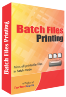 Batch Files Printing discount coupon