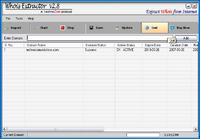 <p>Whois Extractor v2.8 is fast & efficient tool for extract information about DOMAIN's owner from INTERNET. It extracts domains owner information such as email addresses, name servers in use, last update date, expiration date, creation date & address.</p>