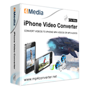 15% Discount Coupon code for 4Media iPhone Video Converter for Mac