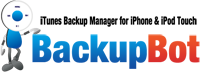 <p><strong>iBackupBot</strong> help you to browse, view, export and edit iTunes backup files, so you can manage addressbook, notes, SMS messages of iPhone/iPod Touch on your computer.</p>