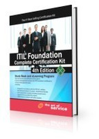 ITIL® V3 Foundation Complete Certification Kit – Fourth Edition: Study Guide eBook and Online Course discount coupon