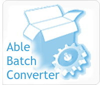 Able Batch Converter (Site License) - easily convert multiple graphic files at the click of a button