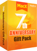 MacX Anniversary Gift Pack (FREE Lifetime Upgrade) - for Mac