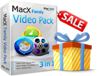MacX Family Video Pack Screen shot
