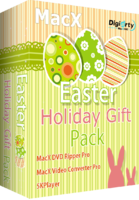 MacX Easter Holiday Gift Pack Screen shot