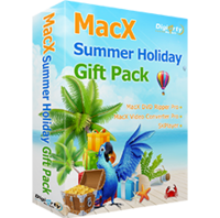 MacX Summer Holiday Gift Pack for Windows Screen shot